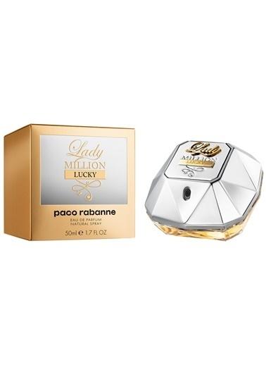 Paco Rabanne  Lady Million Lucky Edp 50Ml Kadın Parfüm Renksiz